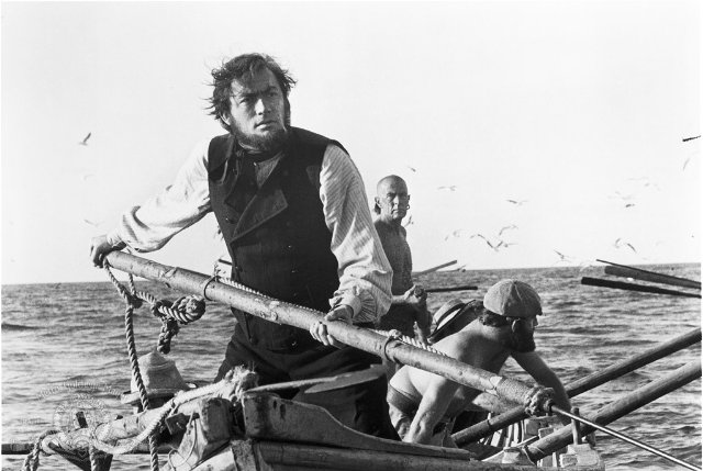 Gregory Peck as Captain Ahab from the 1956 film.